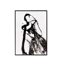 Illustration w. frame, Opera ,l: 45 cm, w: 32 cm, h: 2 cm