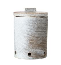 Hazel Onion Jar, Grey, Stoneware