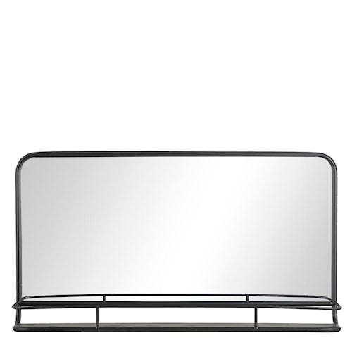 Spegel Hilda 90x50 cm - Black