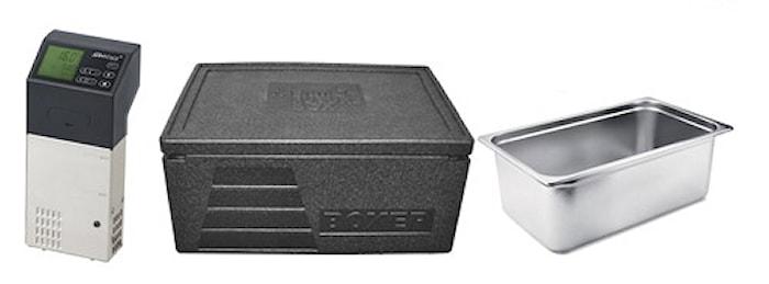 Sous Vide-paket Pro med Isoleret Gryde