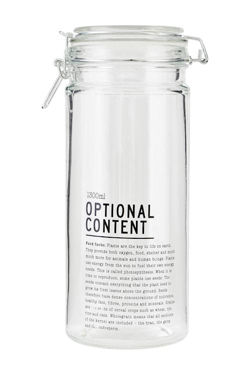 Förvaringsburk Content Ø 1300 ml - Klar