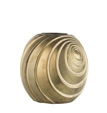 Vas Swirl 16cm Guld