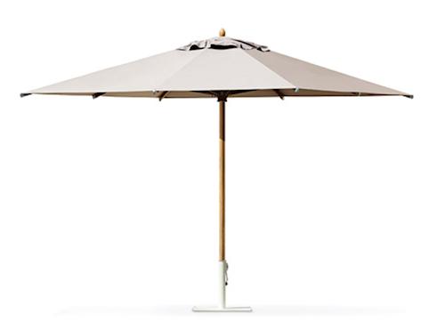 Classic 3x3 parasoll - Utan parasollfot