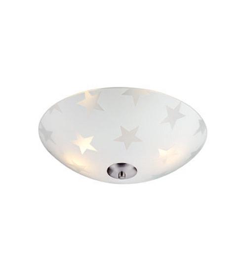 Star LED Plafond Frostet 35 cm