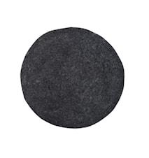 Felt Istuintyyny musta Ø35 K:4 cm