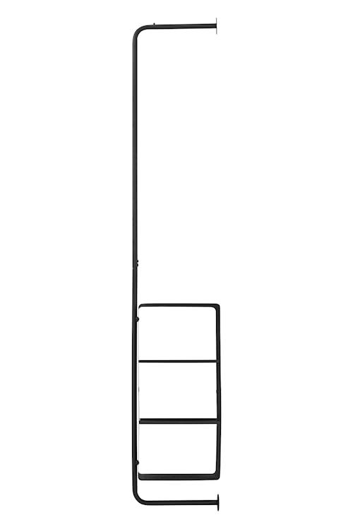 Klesoppheng Ways 30x32x175 cm - Svart