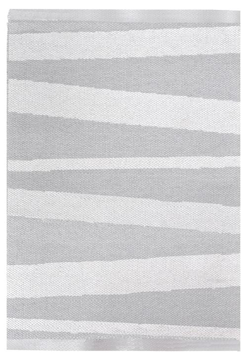 Åre Grå/vit matta 1 m