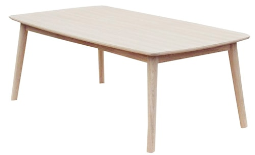 CASØ 120 matbord - Vitoljad ek