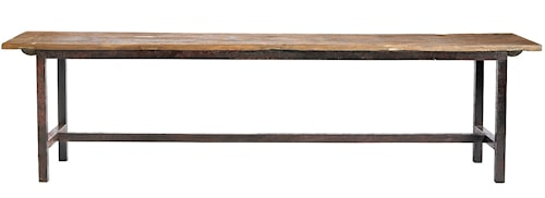 Raw bench wood - 170 cm