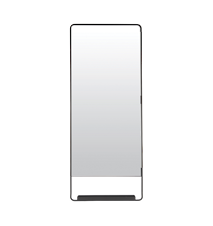 Spegel Chic 45x110 cm - Svart