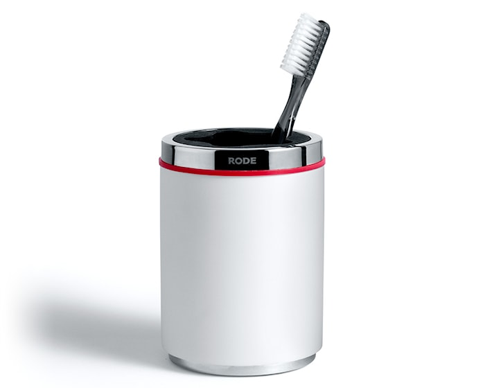 Mafalda tannbørsteholder, Hvit