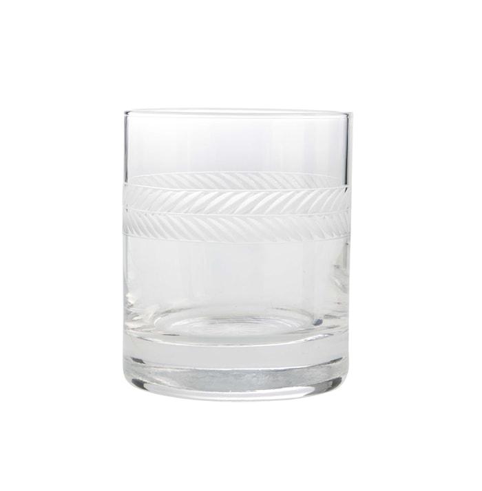 Lagerkrans Drinkglass Håndgravert