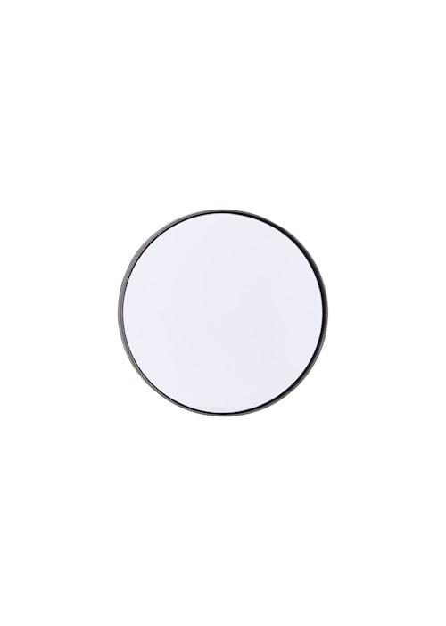 Spegel Reflection Ø 30 cm - Järn/svart