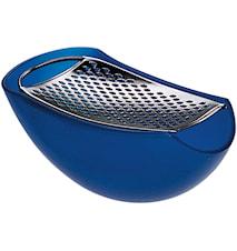 Parmesanrivjärn Plast Blå