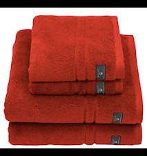Premium Frotteé Handduk Röd 70x140 cm