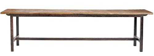 Raw bench wood - 100 cm