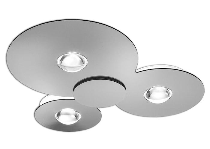 Bugia LED pl3 plafond – Krom