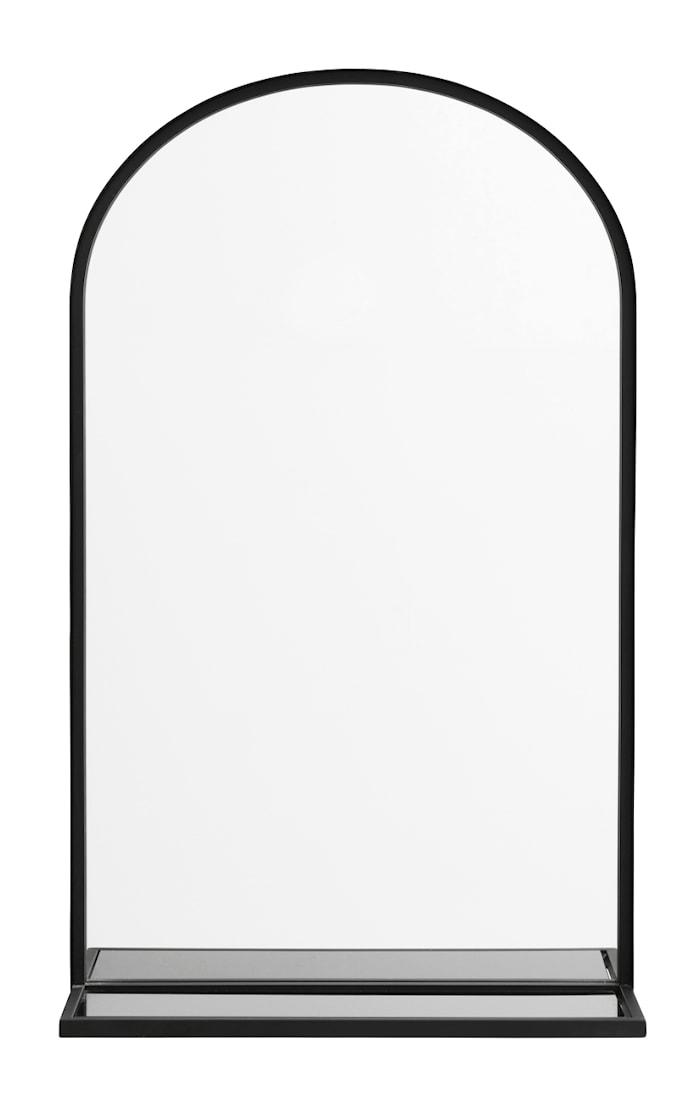 Speil Iron med glasshylle