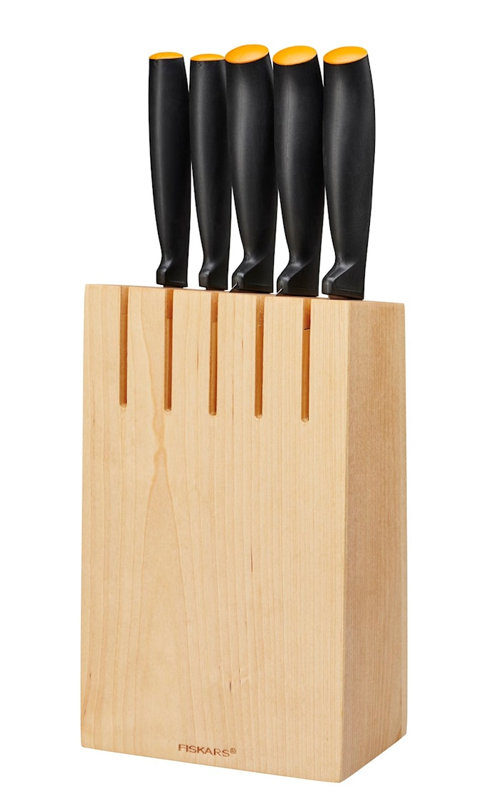 Functional Form Knivset 5 pcs inkl. block