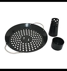 Kycklinghållare med wok