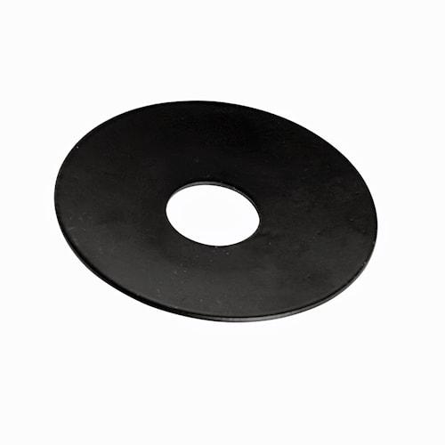 Lysmansjett lysekrone rund svart