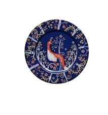 Taika Tallerken 22 cm blå