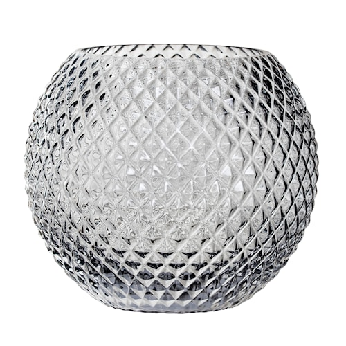 Vas Bowl - Grå 25 cm