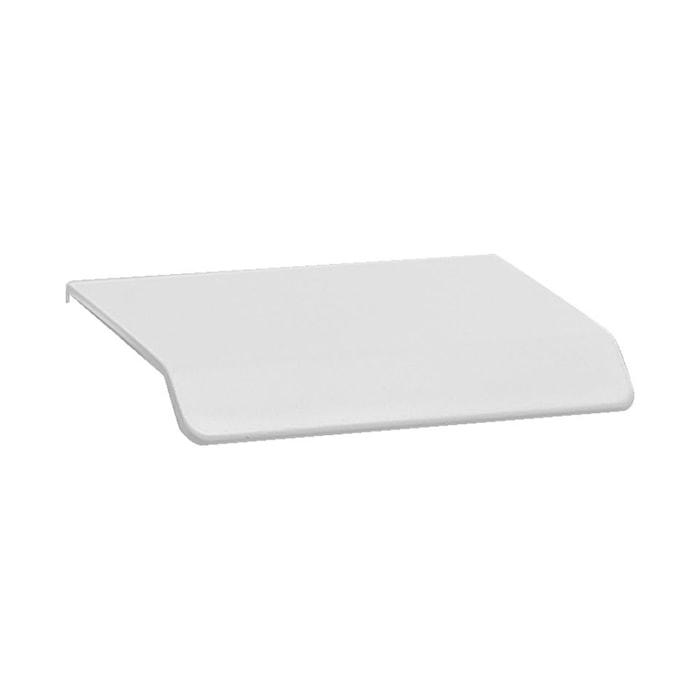 Handtag Curve 4,5 cm matt vit