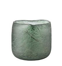 Värmeljuslykta Mura 9 cm Grön