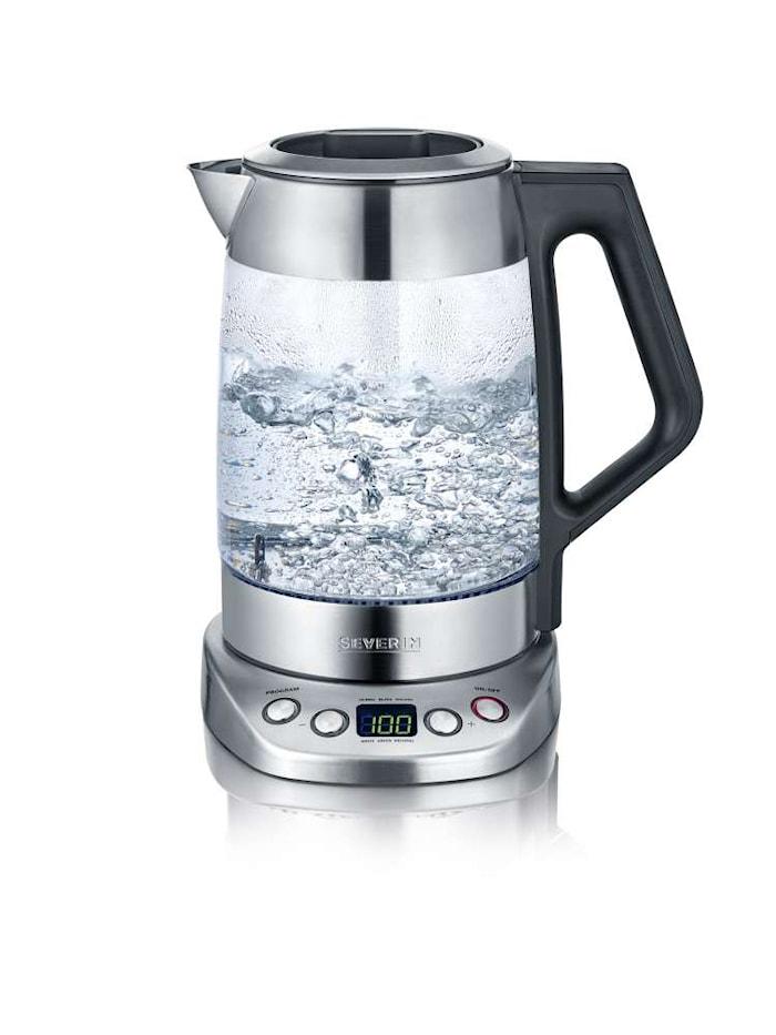 Te-/Vattenkokare Glas Deluxe med Temperaturval 3000W 1,7 L