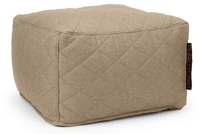 Softbox quilted nordic sittpuff – Concrete
