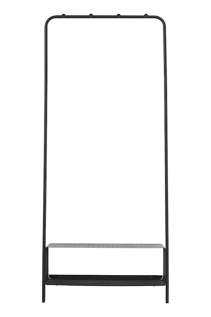 Klesoppheng Ways 74x32x170 cm - Svart