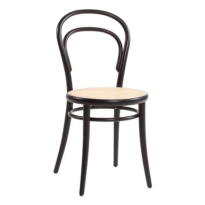 Thonet No A14 stol med Rottingsits