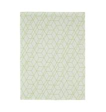 Handduk 100% Bomull Lime 70x50 cm