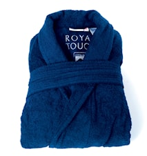 Morgonrock Royal Touch Velvet Blue XL