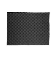 Dækkeserviet - Sort - Stk. - PVC - L 40,0cm - B 30,0cm - Bulk pack