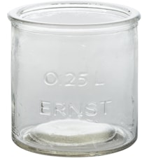 Glasburk/lykta 0,25L ERNST