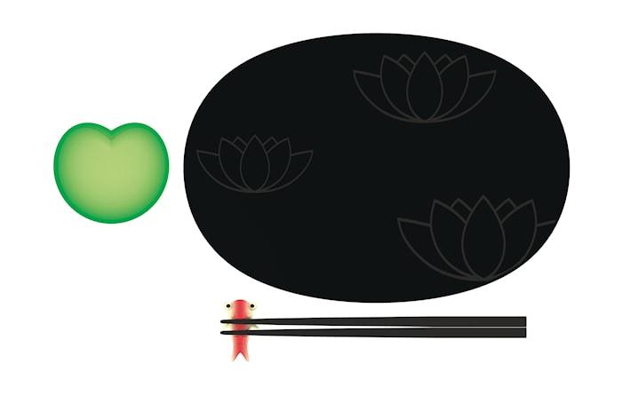 Lily Pond Sushi Sæt