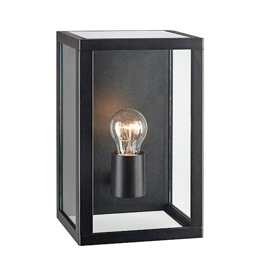 Pelham Vegglampe Black/Clear