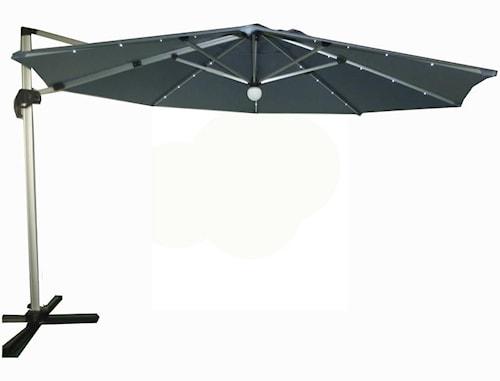 Capri Parasoll med LED belysning 3,5 m