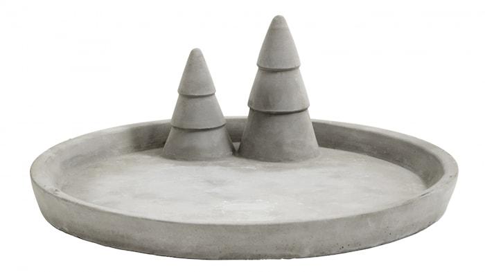 Bordbrikke X-mas Cement Large