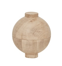 Wooden sphere xl - svart