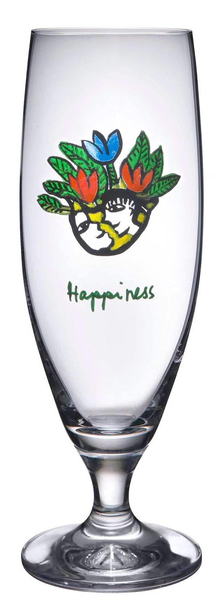 Friendship Happiness Ölglas 50 cl