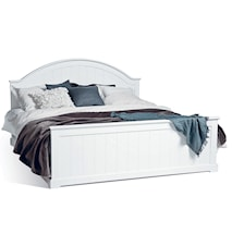 Smögen säng - vitlack, 180 x 200
