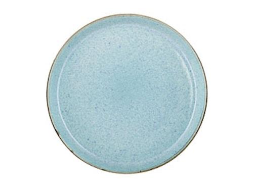 Gastro Tallrik Ø 27 cm Grå/Ljusblå