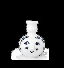 Vase, Fie, blå, H 10,5 cm