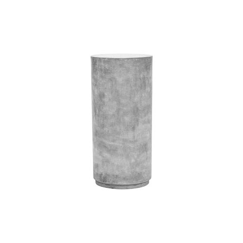 Pedestal Fifty Grey h: 76 cm dia: 36 cm