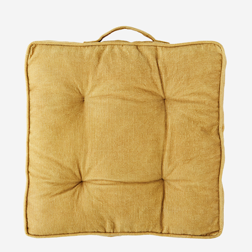 Corduroy chair pad