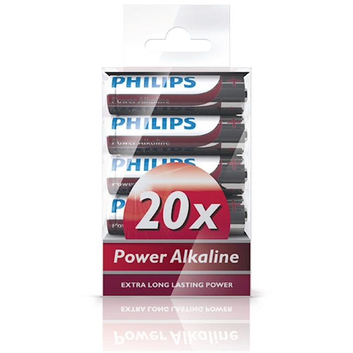 Fashion Power Alkaline AA 20 Pack