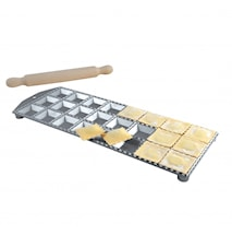 Alum. ravioli maker 24 sq.